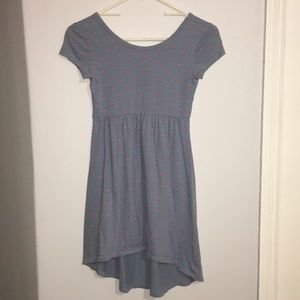 Blue Old Navy High-Low Dress